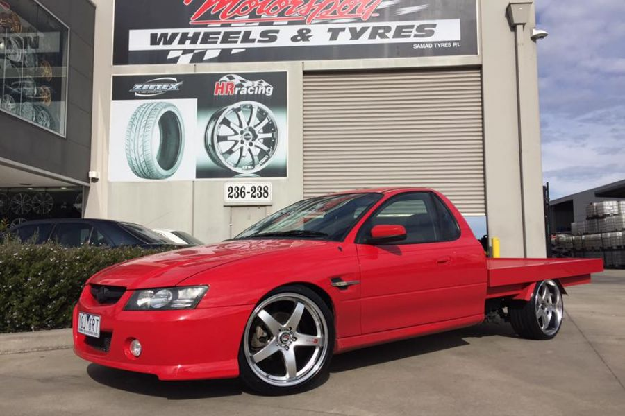 Holde Vz Ute With Lenso D1r Wheels 20