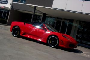 Madina Sprit on Red Ferrari F430  |  | Madina Spirit II