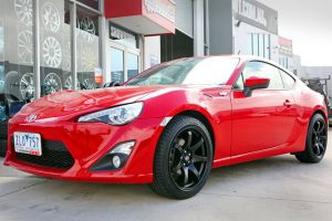 TOYOTA 86 with HR-556 | TOYOTA