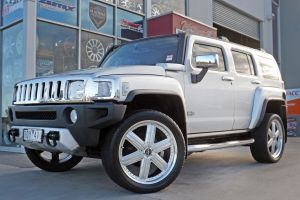 HUMMER WITH TI+34 SILVER CENTER  | HUMMER