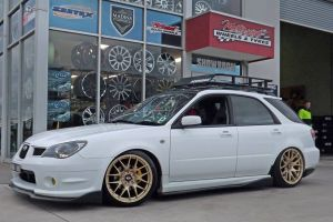 SUBARU WRX WAGON with XXR 530  |  | SUBARU