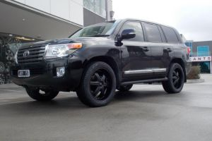 TOYOTA LANDCRUISER with DOLCE WHEELS |  | TOYOTA