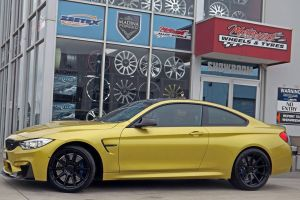 BMW M4 WITH KOYA WHEELS |  | BMW