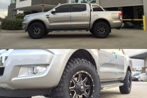 FORD RANGER with FUEL MAVERICK WHEELS IN 17X9 |  | FORD
