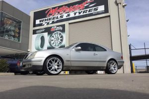 MERCEDES with AVANT GARDE M580 19 inch wheels |  | MERCEDES