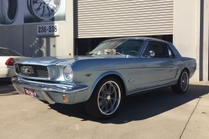 FORD MUSTANG with U.S MAG RAMBLER'S |  | FORD