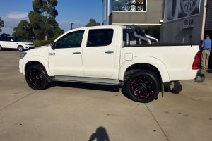 TOYOTA HILUX with BLADE SERIES V 20 inch wheels |  | TOYOTA