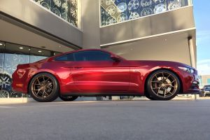 FORD MUSTANG with KOYA SF10 - 20X10 & 20X11 - BRONZE FINISH |  | FORD