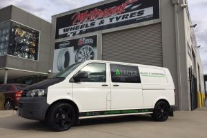 VW TRANSPORTER fitted with 18