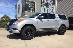 MAZDA BT50 with BLADE SERIES III wheels |  | MAZDA