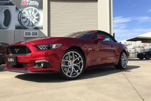 FORD MUSTANG with FOOSE OUTCAST WHEELS |  | FORD