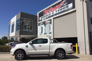 FORD RANGER with AMERICAN RACING AR708 20 |  | FORD