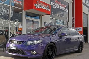 FORD FG FALCON WITH 20INCH HR 1060 WHEELS  |  | FORD