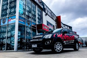 MOTORSPORT WRAPPED HOLDEN CAPTIVA  |  | HOLDEN