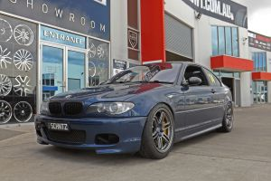 BMW 3 SERIES COUPE WITH NANKANG SEMI SLICKS  |  | BMW
