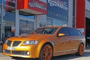 HOLDEN  WAGON WITH 20INCH G8 SERIES II WHEELS  | HOLDEN