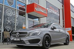 MERECEDES CLA WITH MESH WHEELS  |  | MERCEDES