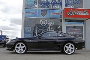 TOYOTA SUPRA WITH STAR WHEELS  |  | TOYOTA