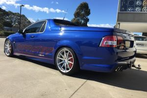 HSV VF MALOO with NVEUS RANA WHEELS 20 inch STAGGERED |  | HOLDEN