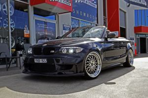 BMW 1 SERIES WITH VERTINI HELLFIRE WHEELS  |  | BMW