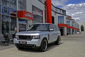 RANGE ROVER WITH MADINA SPIRIT II WHEELS  | RANGE ROVER