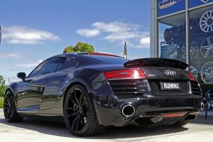 AUDI R8 WITH KOYA SF11  WHEELS  |  | AUDI