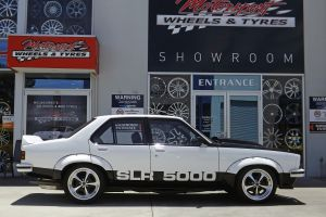 HOLDEN TORANA WITH AMERICAN RACING WHEELS  |  | HOLDEN