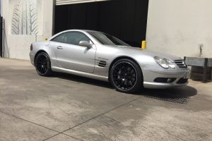 M01 20 inch staggered - MERCEDES SL |  | MERCEDES