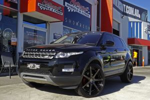RANGE ROVER EVOQUE WITH VERTINI DYNASTY WHEELS  |  | LAND ROVER