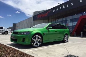 Holden VE with 20x8.5 H-R1 Wheels |  | Holden
