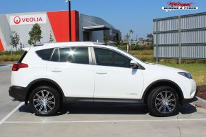 TOYOTA RAV4 WITH 18 INCH CSA NITROUS WHEELS |  | TOYOTA