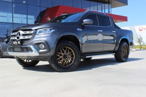 MERCEDES X CLASS WITH 20X9 KMC GRENADE WHEELS |  | MERCEDES