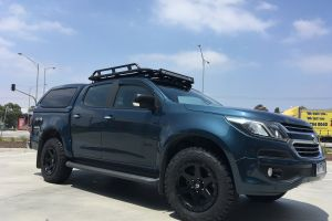HOLDEN COLORADO WITH 18X9 FUEL RIPPER WHEELS |  | HOLDEN