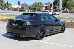 HOLDEN VE WITH 22X9 GLOSS BLACK VERTINI DYNASTY WHEELS |  | HOLDEN
