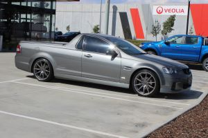 HOLDEN VE UTE WITH 20 INCH NVEUS RANA WHEELS |  | HOLDEN