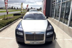 ROLLS - ROYCE GHOST AT MSWT  |  | ROLLS-ROYCE