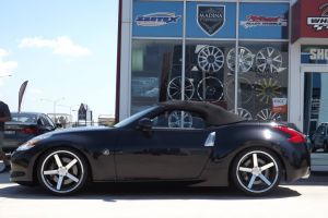 NISSAN 370Z WITH STANCE WHEELS  |  | NISSAN