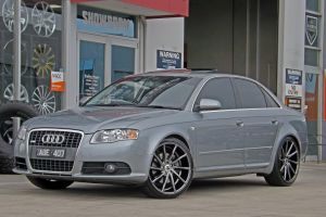 AUDI A4 WITH HUSSLA DIRECTIONALS |  | AUDI