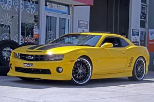 CHEV IN YELLOW WITH MADINA  |  | CHEV