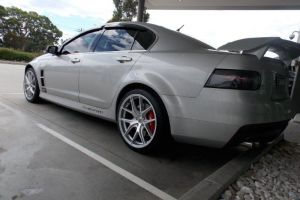 HSV VE CLUBSPORT with HR-762 |  | HOLDEN