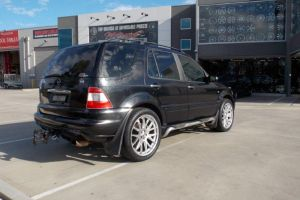 MERCEDES ML with ZITO |  | MERCEDES