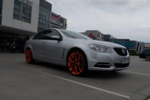 HOLDEN VE COMMODORE with G8 II ORANGE |  | HOLDEN