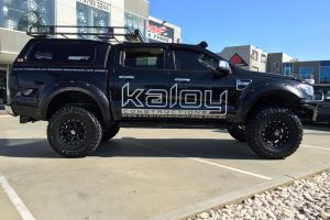 FORD RANGER with KMC ADDICT 17X9 |  | FORD