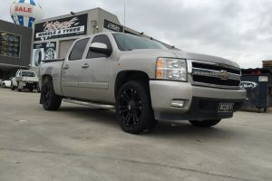 CHEV SILVERADO with KMC MONSTERS |  | CHEV