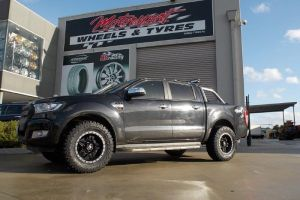FORD RANGER with FUEL ANZA WHEELS |  | FORD