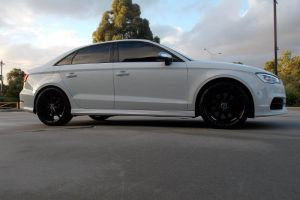 AUDI S3 with HR-758 19 inch wheels |  | AUDI