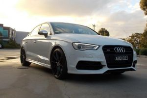 AUDI S3 with HR-758 19 inch |  | AUDI