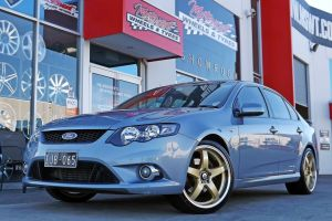 FORD FG FALCON WITH 20INCH R1 WHEELS IN GOLD  |  | FORD