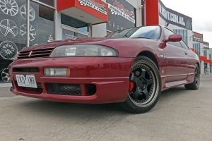 NISSAN SKYLINE WITH HUSSLA ZEN WHEELS |  | NISSAN