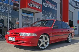 HOLDEN COMMODORE WITH STAR WHEELS  |  | HOLDEN